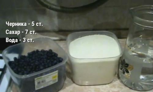 Варенье из черники рецепт на зиму желе. Желеобразное варенье из черники Пятиминутка — рецепт на зиму
