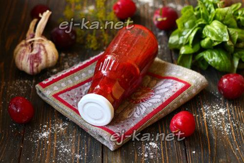 Рецепт ткемали с красной алычи. Грузинский соус ткемали из алычи – рецепт на зиму