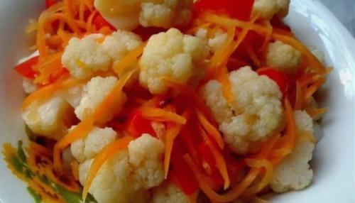 Как засолить цветную капусту по-корейски. Цветная капуста по-корейски на зиму — рецепты приготовления в домашних условиях