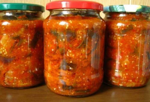 Салат из баклажанов на зиму. Салаты на зиму из баклажанов — 12 рецептов, что аж пальчики оближешь