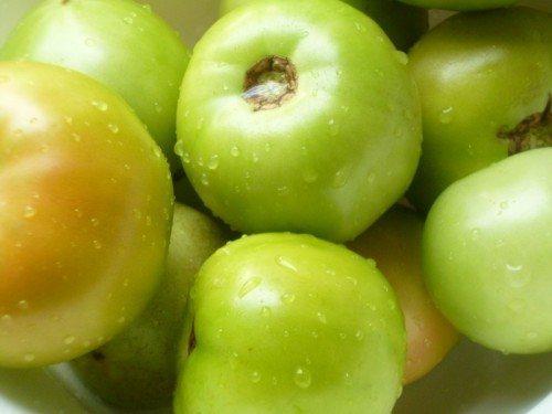 Соленые помидоры зеленые в банках. Приготовление